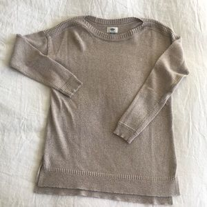 Old Navy Oatmeal Sweater